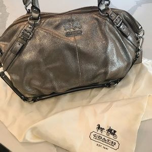 COACH Madison Large Sophia Shimmer Satchel